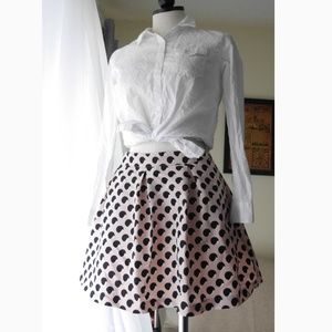 Retro styled circle skirt
